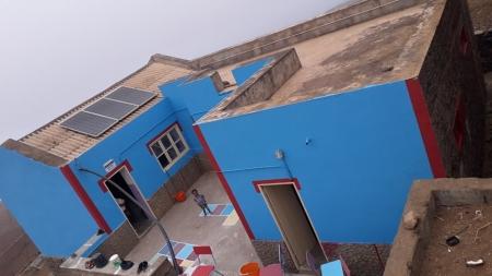 Escola de Pascoal Alves com imagem renovada
