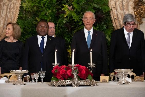 ADPM participa em jantar promovido pela Presidência da República em Honra do Presidente de Moçambique