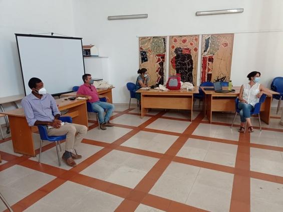 Técnico do projeto Sistemas Agroflorestais visita a ADPM