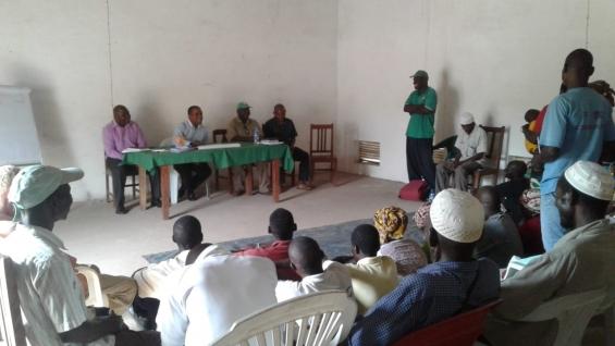 1.º Dia de formação sobre Gestão Agrícola para os camponeses de Monapo