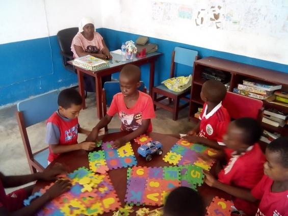 Centro de tempos livres de Monapo acolhe cada vez mais crianças