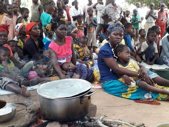Sensibilização para a nutrição e segurança alimentar em Moçambique
