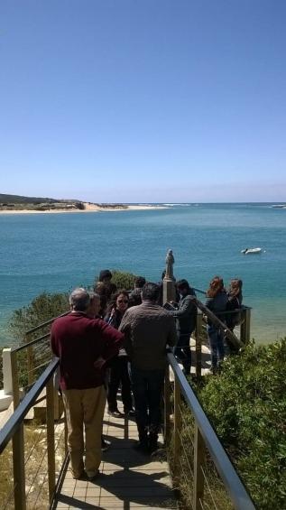 Parceiros do Projeto UADITURS II visitam Vila Nova de Milfontes