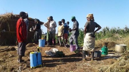 Sessões de Agroecologia e Adubação Orgânica para Agricultores do Norte de Moçambique
