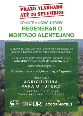 Convite a Agricultores - Regenerar o Montado Alentejano