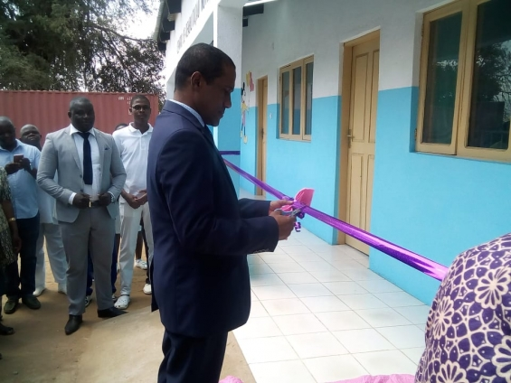 Abertura do Centro de Reabilitação Nutricional para crianças em Monapo