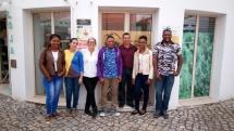 Intercâmbio com agricultores da Ilha de Santo Antão