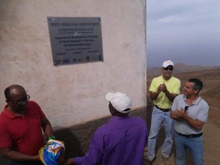 Energia Elétrica 100% Renovável chega a Pascoal Alves - Cabo Verde
