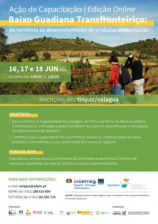 Projeto VALAGUA promove ação de capacitação online