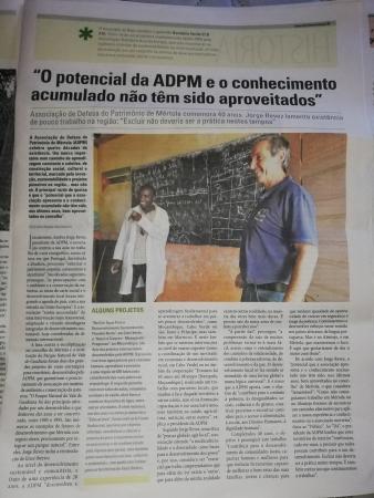40 anos da ADPM no Diário do Alentejo