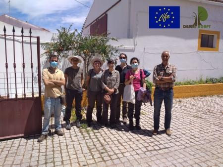 Life Desert-Adapt: FCUL visita áreas piloto portuguesas do projeto