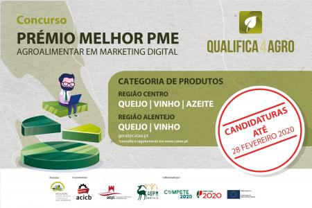 Prémio para melhor PME Agroalimentar em Marketing Digital   Inscrições até 28 de fevereiro