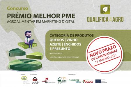 Projeto Qualifica4agro promove Prémio para Melhor PME Agroalimentar em Marketing Digital