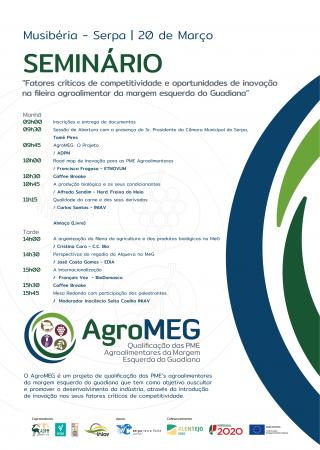 Seminário do Projeto AgroMEG em Serpa