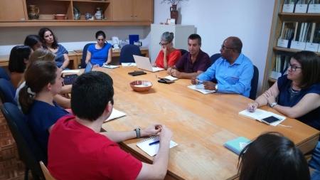 ADPM recebeu a visita do Presidente da CM de Porto Novo