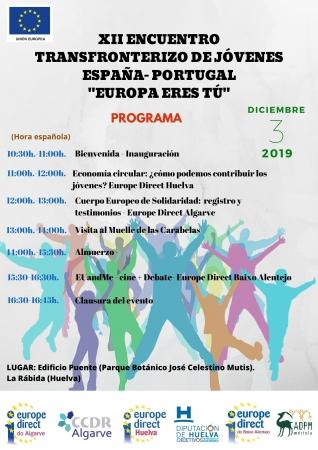 Europe Direct do Baixo Alentejo participa em atividade transfronteiriça em Huelva