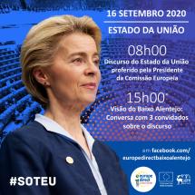 Discurso do Estado da União 2020 – A Europa vista da planície