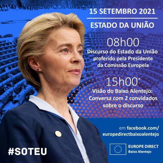 Discurso do Estado da União 2021- A Europa vista da Planície