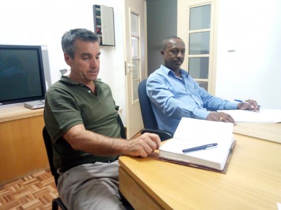 ADPM recebeu a visita do gestor do Fundo de Turismo em Cabo Verde