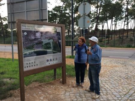 Mata de Vila Real de Santo António já tem sinalética nova