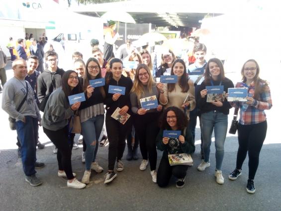 Centro de Informação Europe Direct do Baixo Alentejo marcou presença na Feira do Porco Alentejano