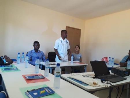 Técnicos de Nutrição do Distrito de Monapo debatem sobre o Programa Nacional de Reabilitação Nutricional