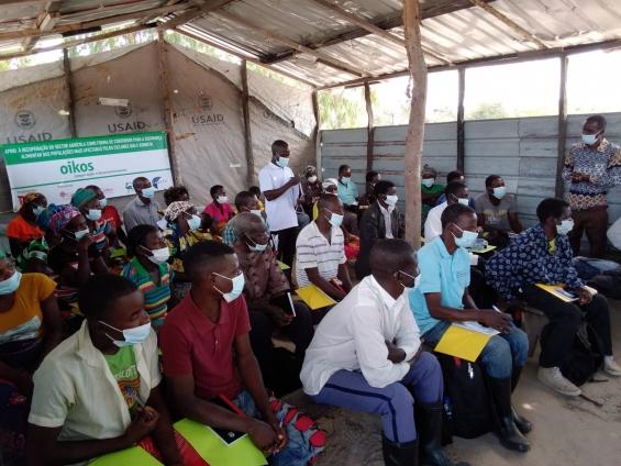 Apoio à Recuperação do Sector Agrícola: Capacitação de grupos de produtores para aumento da produção