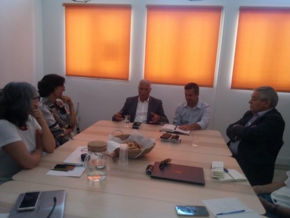 Ministro do Turismo e Transportes de Cabo Verde visita ADPM