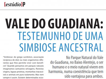 Parque Natural do Vale do Guadiana em destaque no Público