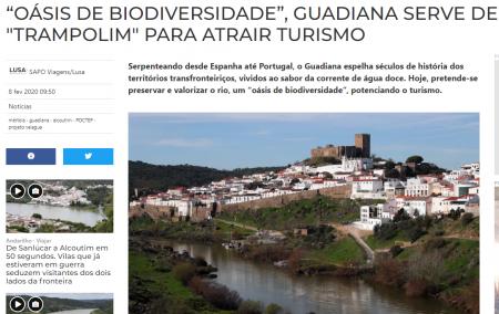 Baixo Guadiana Transfronteiriço - Oásis de Biodiversidade!