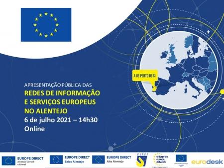 Apresentação Pública das Redes de Informação e Serviços Europeus no Alentejo