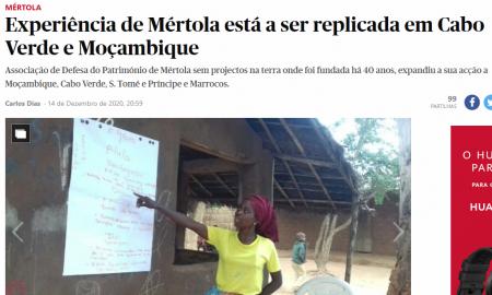 Cooperação: Trabalho da ADPM em destaque no jornal Público