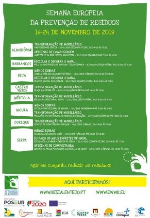 ADPM participa na Semana Europeia de Prevenção de Resíduos