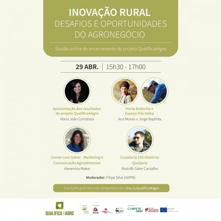 Inovação Rural - Oportunidades e Desafios do Sector Agroalimentar