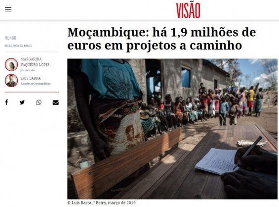 ADPM participa em projeto de apoio à reconstrução de Moçambique