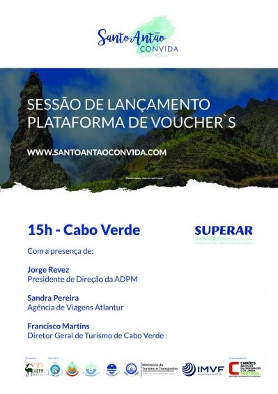 """Lançamento da plataforma online """"Santo Antão CONVIDA"""""""