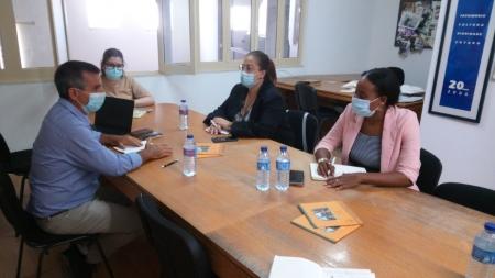 Diretora da Direção Geral de Turismo e Hotelaria de São Tomé e Príncipe visitou a ADPM