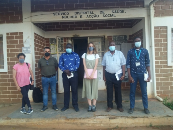 Equipa da ADPM em Moçambique