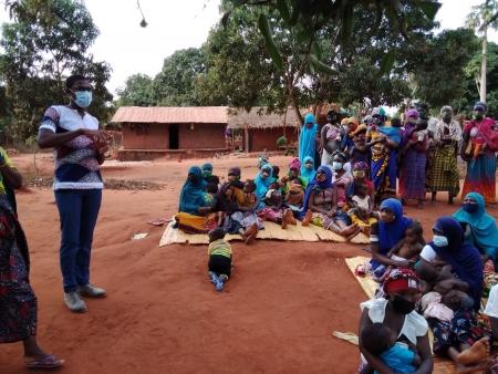 Desenvolvimento Rural Sustentável   Um ano de atividades no distrito de Monapo (Moçambique)