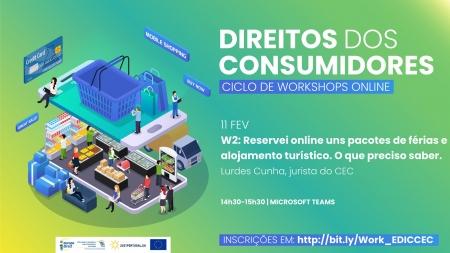 Workshops Online sobre Direitos do Consumidor