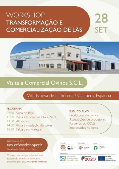 Workshop Transformação e Comercialização de Lãs